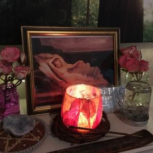Oferenda para Afrodite a Deusa do amor